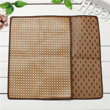 Hot Sale!! Pet Dog Cat Hot Summer Cooling Bed Straw Tatami Bamboo Cozy Sleep Pad Mat M 48*36cm