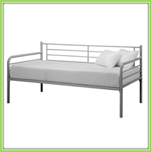 3FT Power Coating Steel Tube Made Single Day Bed In Black New Model