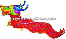 2012 hotting selling dragon shaped mylar balloon