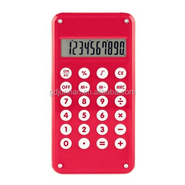 Promotional small 10 digit desktop calculator