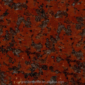 China big flower red granite tile for granite floor and stairs with low price