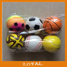 10cm anti stress ball cheapest pu foam antistress game ball for promotion toy ball