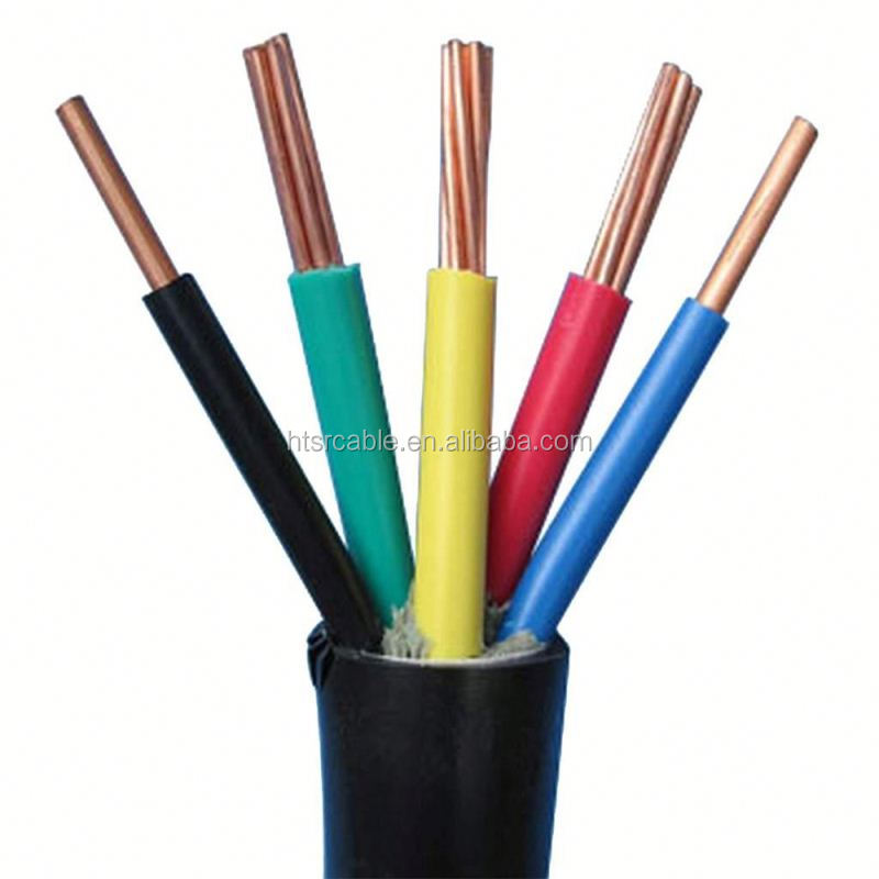 China manufacturer XLPE insulated flexible controlcable electrical power cable copper conductor lead sheathed cable