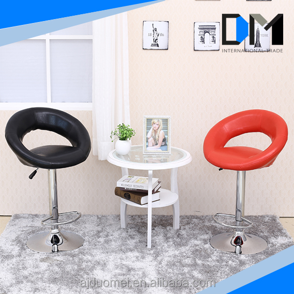 Ergonomic living room chair italian leather bar stool children swivel chair
