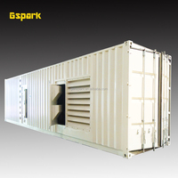 1200KW Container type Power plant with Cummins 1500KVA Diesel Generator
