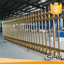 China supplier modern iron craft aluminum fence panel