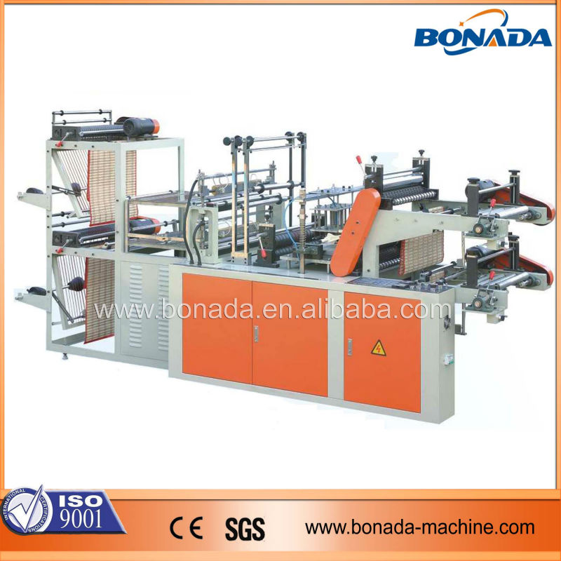 GBDR Series Automatic Roll To Roll Plastic Rubbish Bags Making Machine