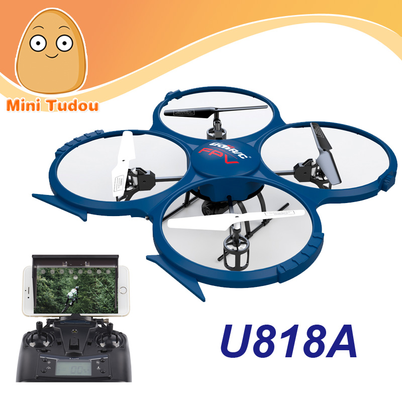 Minitudou Drone Hot Sell UFO U818A Upgrade Wifi Camera RC Aircraft Phone Remote Control 2.4G RTF Quadcopter U818A-Wifi