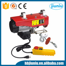 High Quality Portable 220V Pa1200 Mini Electric Wire Rope Hoist For Sale