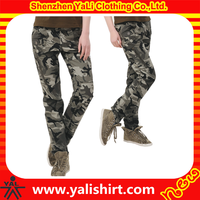 Wholesale custom made women's military camouflage cargo pants