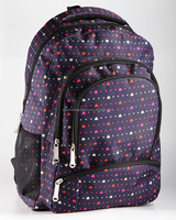 Heart Pattern Backpack/Wholesale School Backpack/ Young unsex Bags