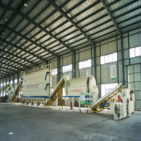 High-Tech City Waste MSW Municipal Solid Waste to Energy power recycling plant with CE