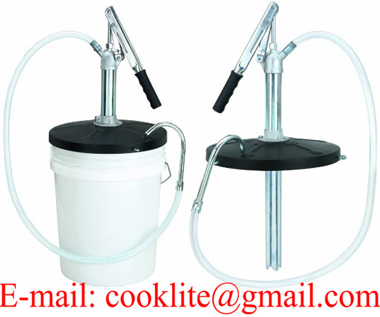 Lubricant Hand Pump For 5 Gallon Pails Manual Grease Bucket Pump