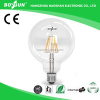High CRI Boysun / OEM Long Lifespan SAA CE RoHS UL Approved 6W led bulb price