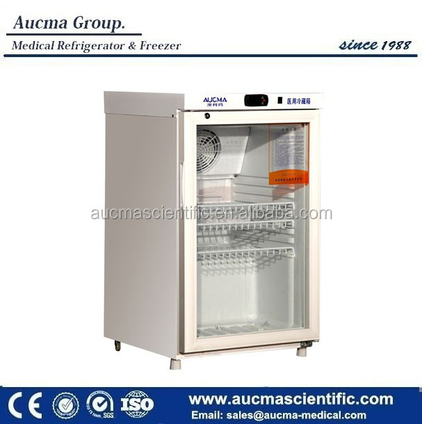 2 to 8 degree small medical pharmacy refrigerator 60liter