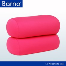 High Quality Tube Shape Pillow Feather Soft Microfiber Pillow Travel Micro Bead Polystyrene Foam Pillow