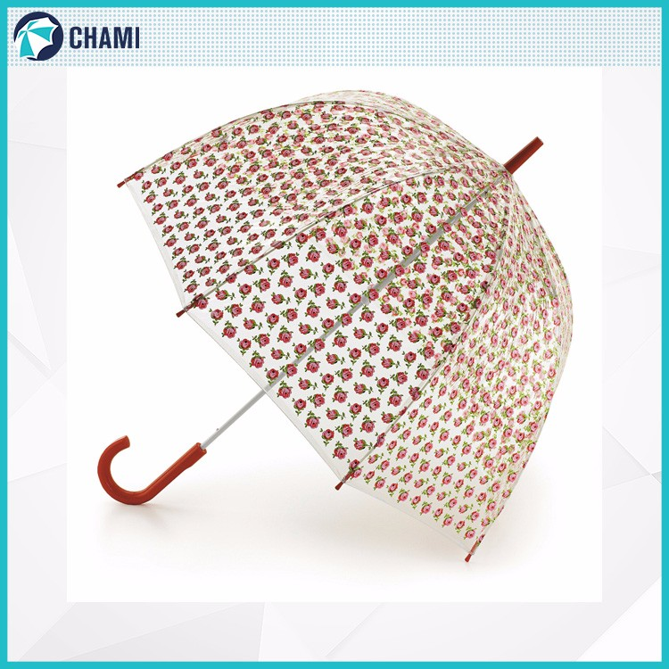 Latest design wholesale custom poe material umbrella