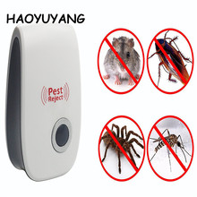 Amazon Hotsale Pest Reject With Night Light Ultrasonic Insect Repeller Rat Repellent