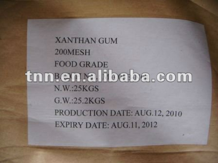 fast delivery cosmetic use Xanthan gum distributor for U.S Google KOSHER certificate by DHL sample