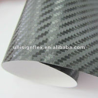 Sticker bubble free carbon fiber vinyl film