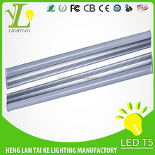 2015 new design T5 led tube light fixture/SMD 2835 3 years warranty 11w integrated led tube lamp