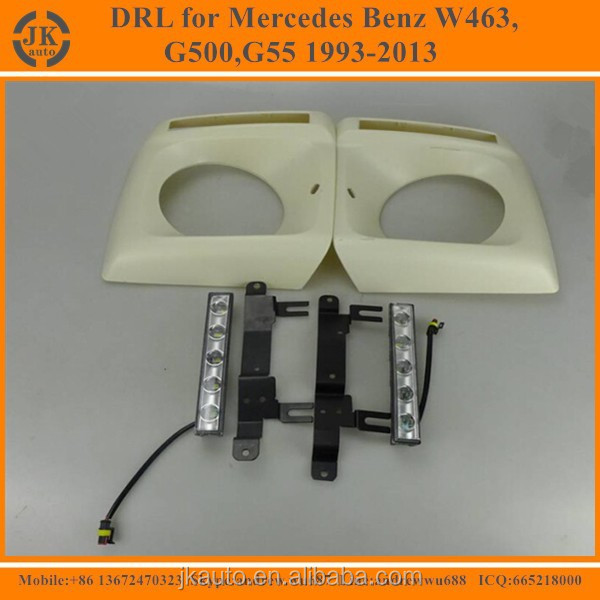 Good Price Wholesale High Power LED DRL For Mercedes Benz W463 Daytime Running Light for Mercedes Benz W463 G500,G55 1993-2013