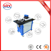 Factory direct sale HRX SA-12HB square pipe elbow making Pittsburgh lock forming machine for HVAC