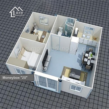 Military Expandable Container House, ISO Standard Mobile Clinic For Public Use