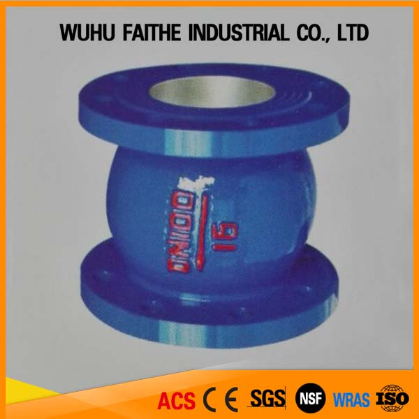 Wuhu faithe non slam check valve ss304 stem