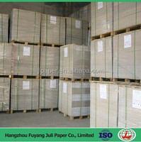 Recycled Pulp Style and Single Side Coating Side Duplex Board Paper