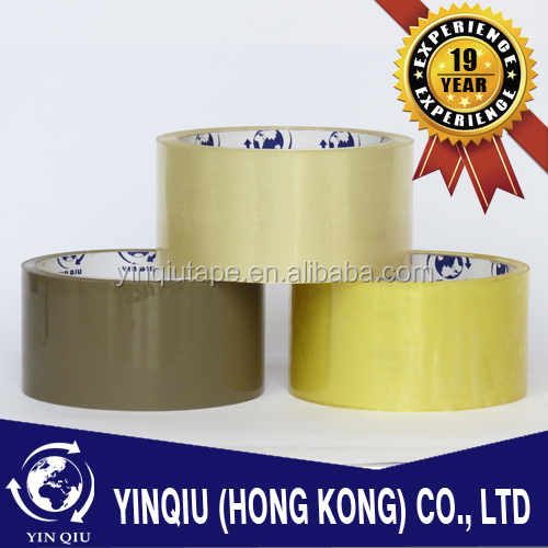 Yinqiu acrylic water base adhesive tape/packing tape/Packing Sealing Tape