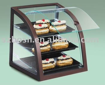 Acrylic Bakery Display, Perspex Bread Case, Plexiglass Cupcake Display