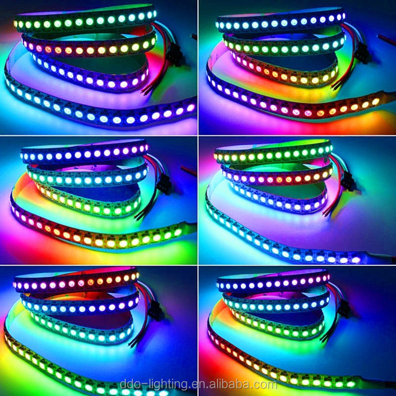 factory directly offer high quality ws2812 led strip with very cheap factory bottom price