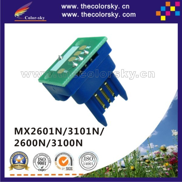 (TY-MX31) toner cartridge reset chip for Sharp MX-2600 MX-3100 MX3100 FT NT T ST LT JT kcmy 18k/15k