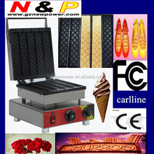 hot selling commercial for making 6 delicious stickers bread oven/lolly waffle maker