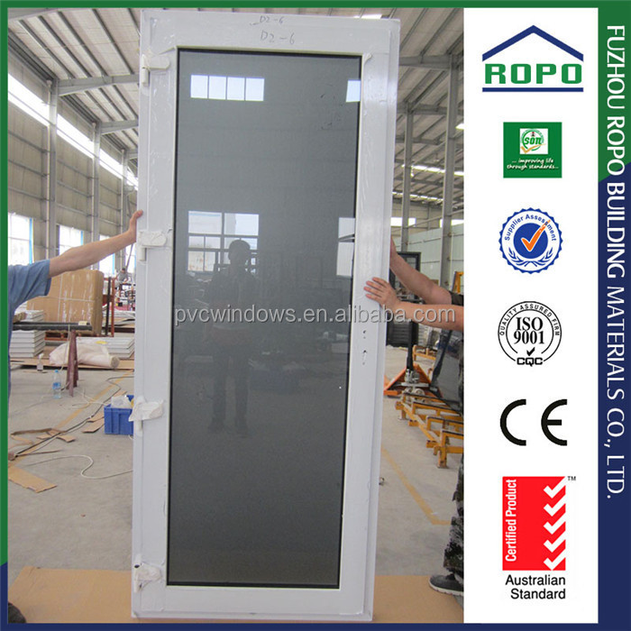 Single panel dark color glass soundproof door