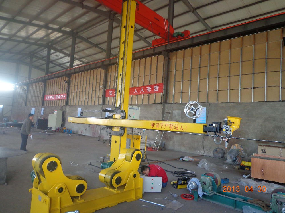 Self-Adjustable Roller Stand Auto Welding System