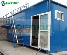 Dyeing Water Treatment Plant Containerized MBR Membrane Bio-reactor