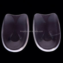Foot Health Silicone Insole Silicone Gel Heel Cushion,Silicone Gel Heel Pads ks222073