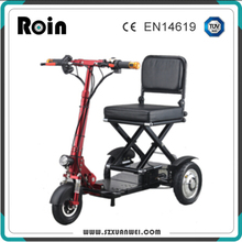 3 wheels foldable electric trike scooter for old people tricycle electric 2018