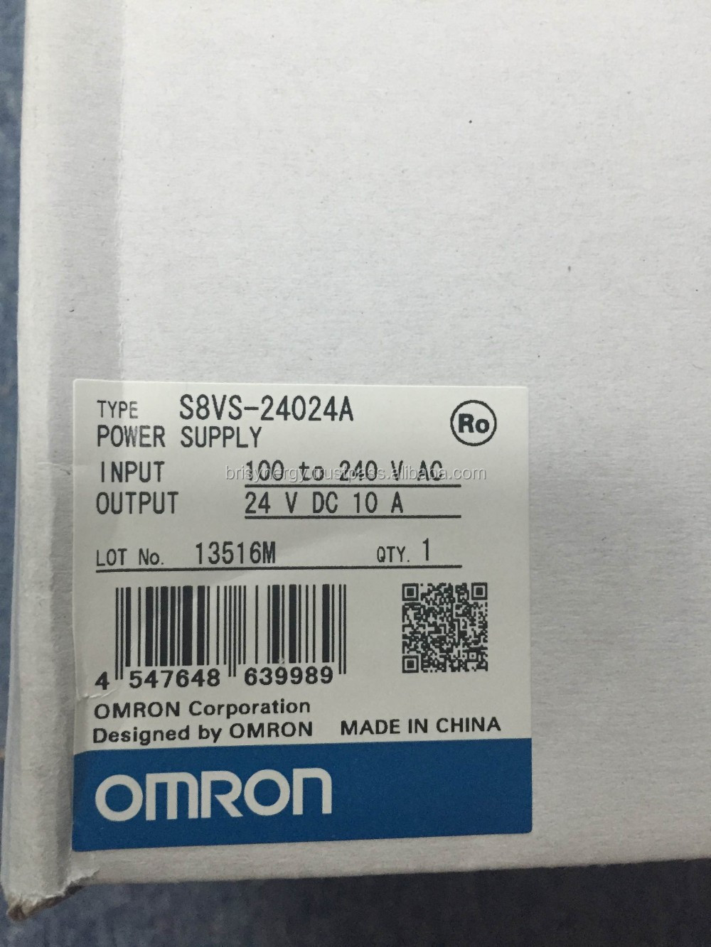 S8VS-24024A Omron Switch Mode Power Supply S8VS
