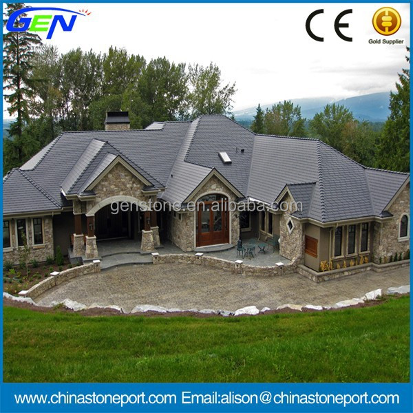 Popular European Style Slate Stone Roof Tiles