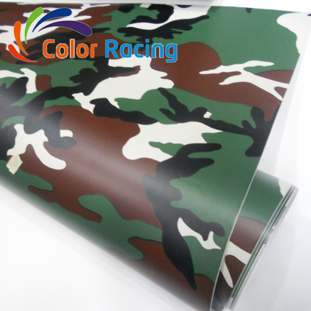 Top selling special car wrap camouflage 3M quality auto wrap with air channel