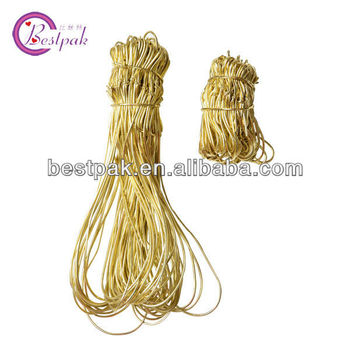 gold elastics for packaging of high quality in the market
