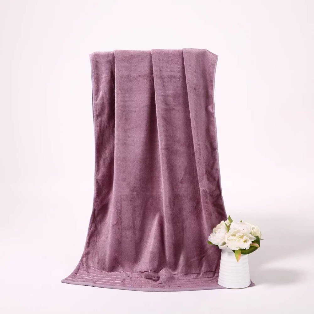 new products 2016 China manufacture bamboo bath towel