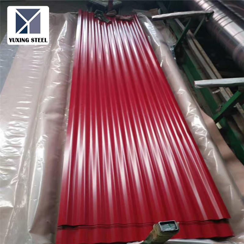 Factory Direct Sale Color Coated Galvanzied Steel Coil corrugated galvanized iron sheets in china