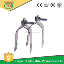 Galvanized Heavy Duty Strut Pipe Clamp for channel conduit