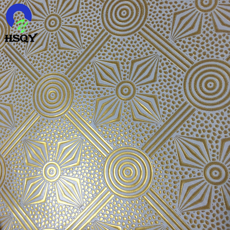 Embossing Decorative PVC Film For Gypsum Ceiling Tiles