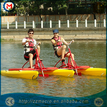 Wholesale factory price two seats for water park aquatic bike on water