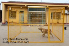 Outdoor Dog Kennels Roof Gazebo Portable Medium Puppy Pet Crates Chain Link Cage